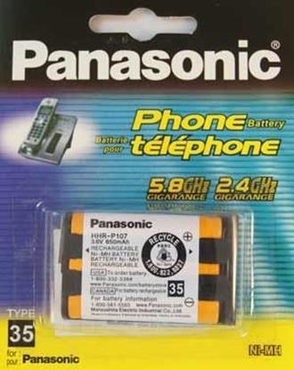 باتری تلفن پاناسونیک P107
