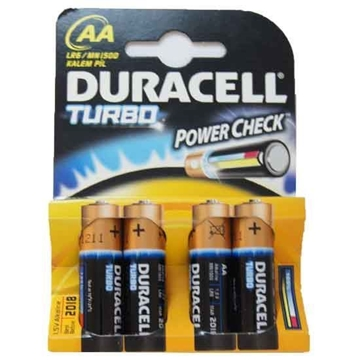BATTERY TURBO MAX DURACELL AA ALKALINE