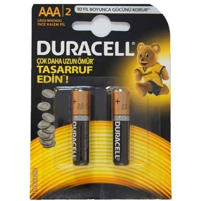 DURACELL BATTERY AAA LR03 SUPER ALKALINE