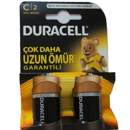 DURACELL BATTERY SIZE C SUPER ALKALINE