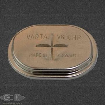 تصویر باتری سکه ای قابل شارژ وارتا varta v600 hr