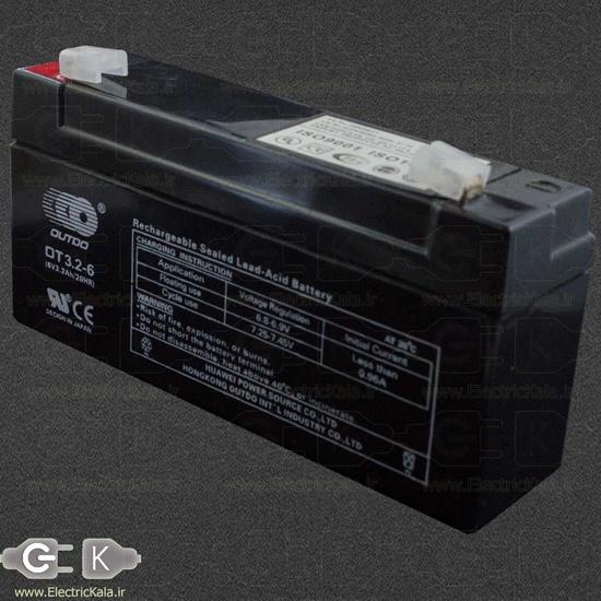 battery sla 6v 3.2ah