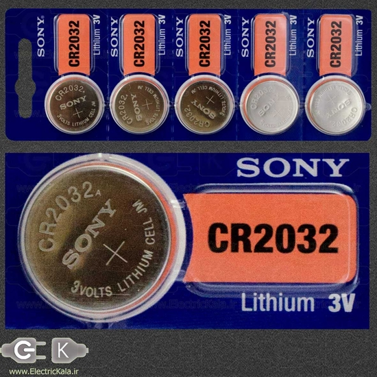Sony CR2032 coin Battery