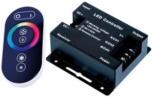 تصویر برای دسته کنترولر ال ای دی رنگی-RGB LED Controller