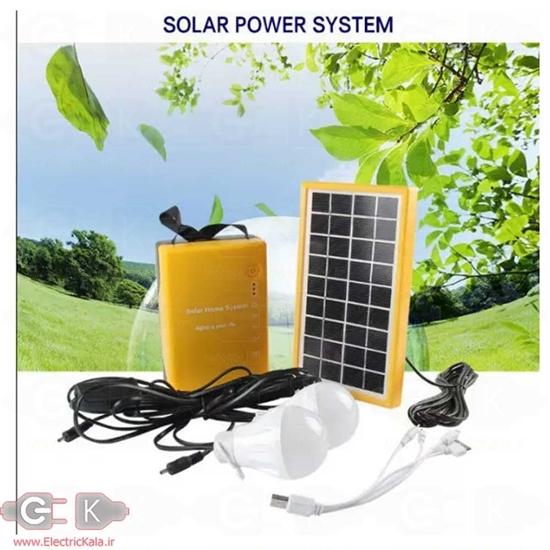 پکیج سولار ال ای دی و باتری و پاور بانک خورشیدی