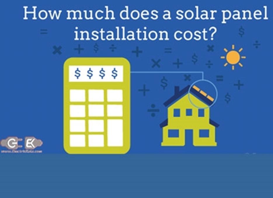 هزینه های انرژی خورشیدی