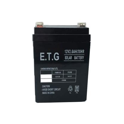 باتری 12 ولت 2.6 آمپر ETG مدل ETG1226