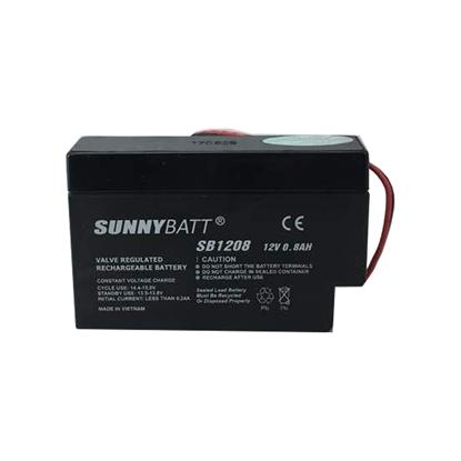 باتری سانی بت 12 ولت 0.8 آمپر مدل SB1208