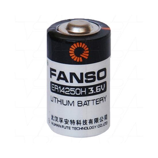 باتری لیتیومی ER14250 3.6 v مارک fanso