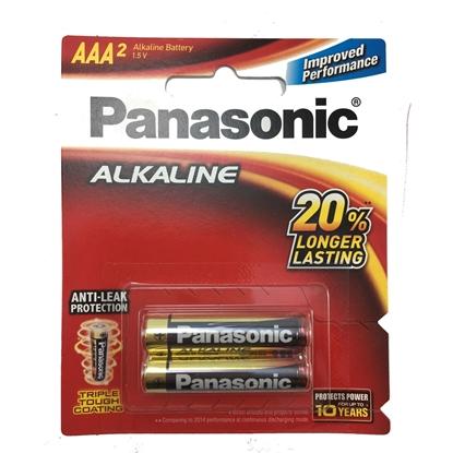 باتری نیم قلمی Panasonic Alkaline بسته ۲ عددی