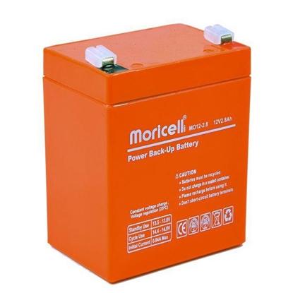 باتری خشک سیلد اسید 12 ولت 2.8 آمپر موریسل مدل mo1228
