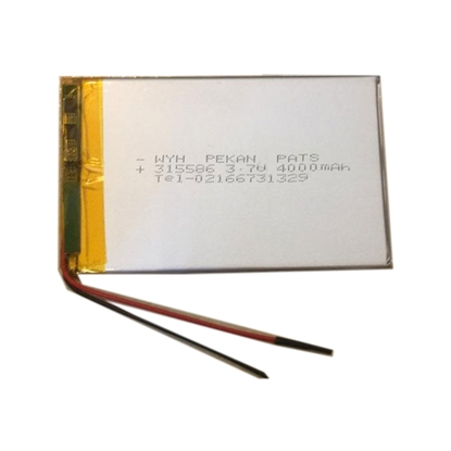 باتری لیتیوم پلیمر 3.7 ولت 4000MAH سایز 315586