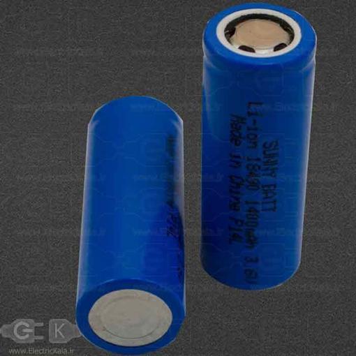 تصویر باتری لیتیومی شارژی سانی بت 18490