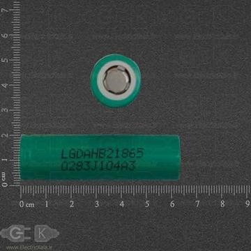 تصویر باتری قابل شارژ لیتیومی Rechargeable battery LG 18650