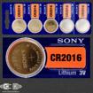 Sony CR2016 coin Battery