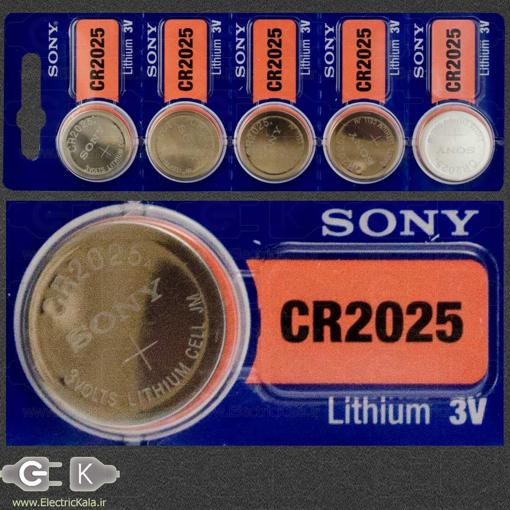 Sony CR2025 coin Battery