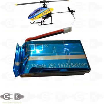 باتری هلیکوپتر و کواد کوپتر
