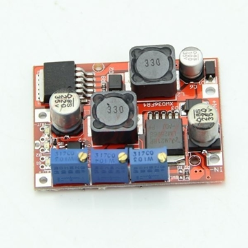 ماژول تغذیه LM2596-LM2577 با امکان کنترل جریان خروجی