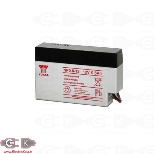 باتری خشک سیلد اسید 12 ولت 0.8 آمپر ساعت