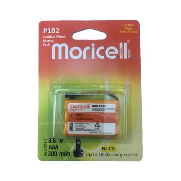باتری تلفن بیسیم موریسل مدل P102