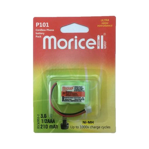 باتری تلفن بیسیم موریسل مدل P101