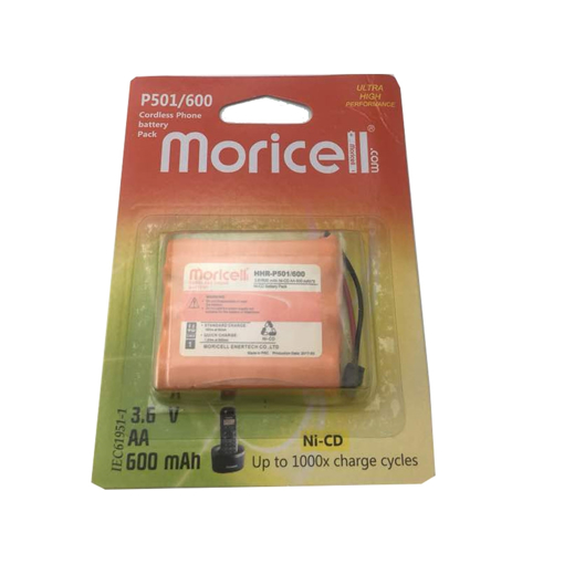 باتری تلفن بیسیم موریسل مدل P501