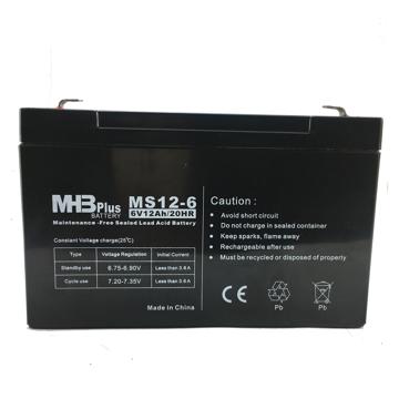باتری 6MHB ولت 12 آمپر مدل MS12-6
