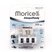 باتری کتابی قابل شارژ آلکالاین موریسل 200mAh مدل AlwaysReady