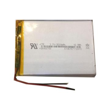 باتری لیتیوم پلیمر 3.7 ولت 3500mah سایز 466789