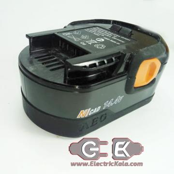 تعویض باتری دریل شارژی مدل AEG