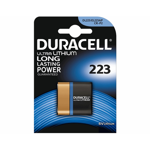 باتری 223 دوراسل مدل Duracell Ultra