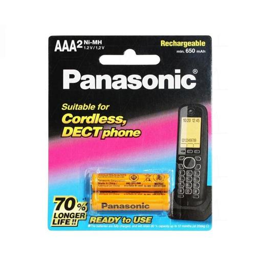 باتری نیم قلم شارژی AAA تلفن بی سیم مدل BK-4LDAW/2BT