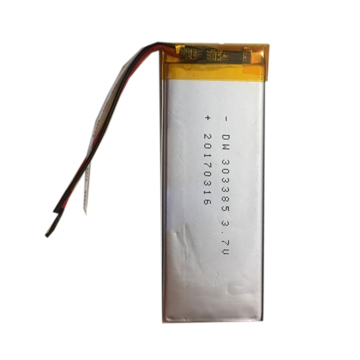 باتری لیتیوم پلیمر 3.7 ولت 4000mah سایز 303385