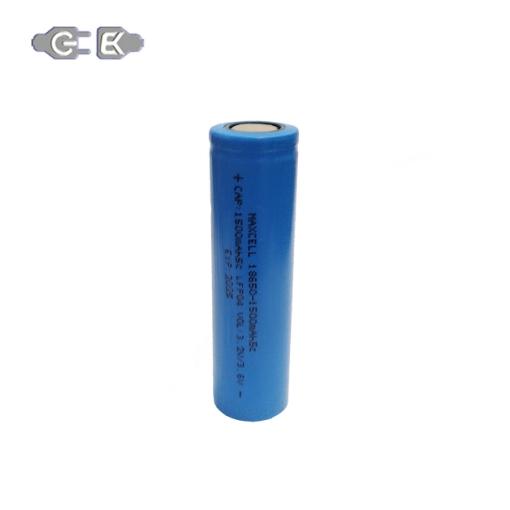 باتری لیتیوم یون مکسل مدل 18650-5C ظرفیت 1500 میلی آمپر ساعت